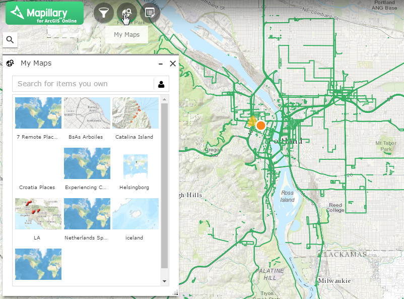 Mapillary for ArcGIS Online – Mapillary