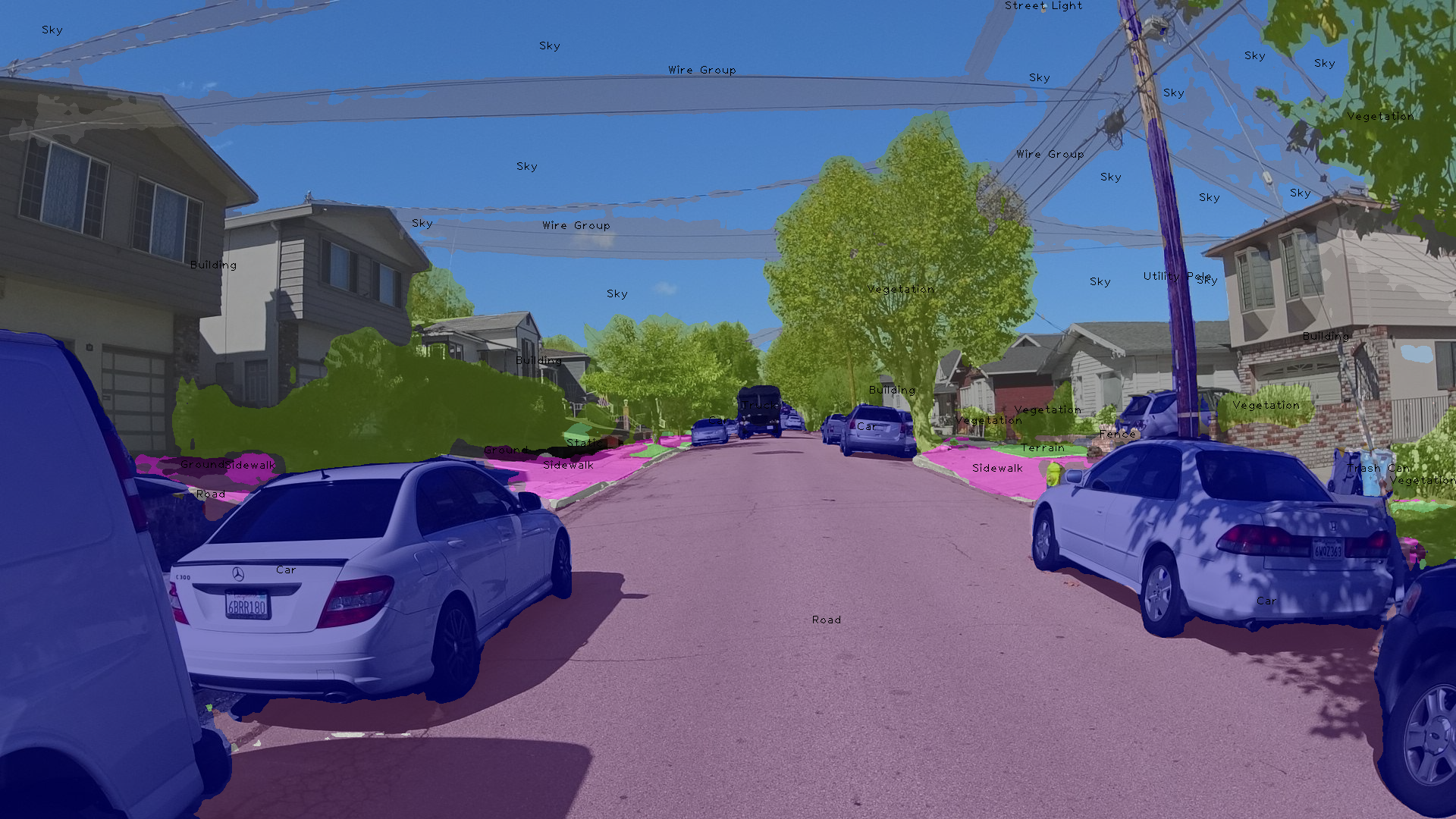 Object detections – Mapillary